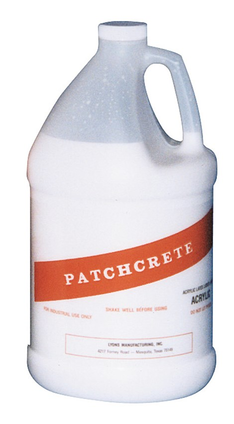 Acrylic Polymer 1 Gallon Jug Used in Conjunction with Patchcrete Gray (Two Component, Acrylic Polymer Modified, Topping and Underlayment)