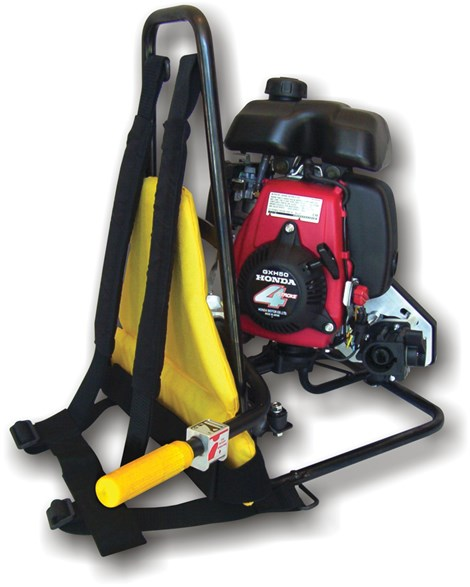 Backpack Vibrator Engine Assembly w/ Honda GX50 (shaft and head not included) - Cordless Vibrators