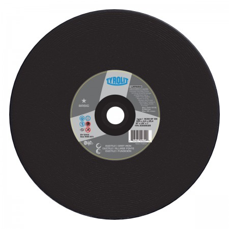 High Speed Ductile/Cast Iron Saw Blade - 14