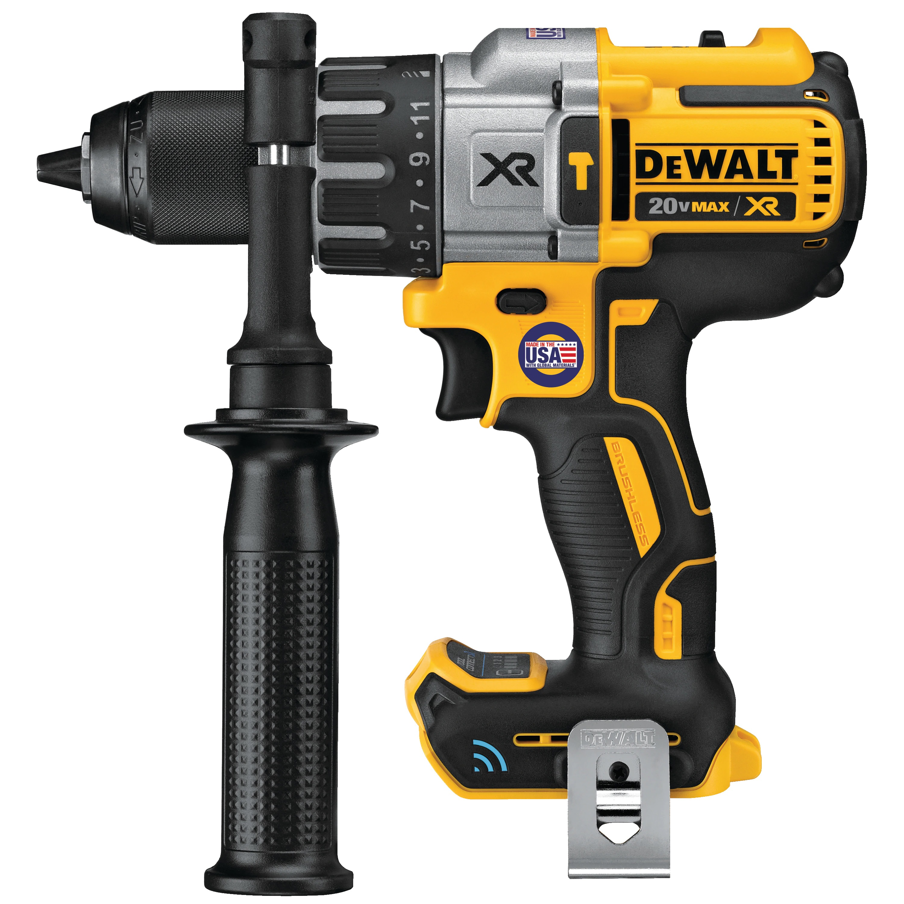 Hammerdrill - 20V MAX* XR® Brushless Tool Connect™ (TOOL ONLY) - Rotary & Demolition Hammer Drills