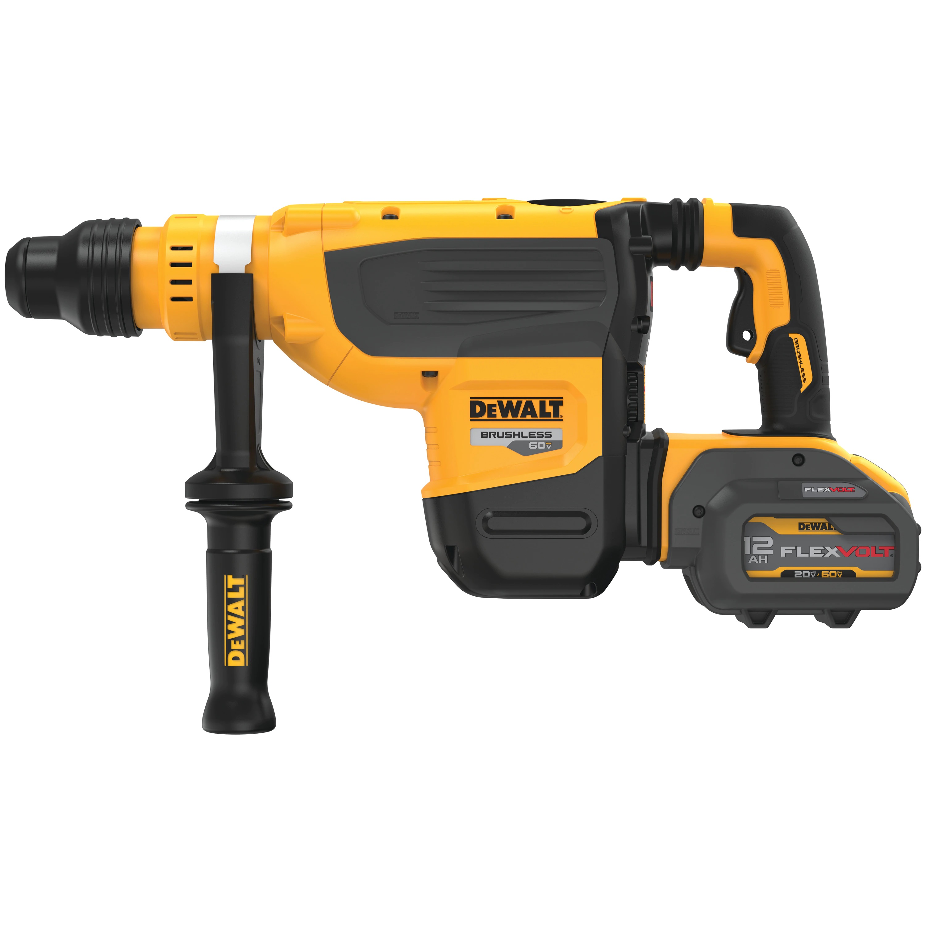 Hammer Drill - 60V MAX* 1-7/8 IN. Brushless Cordless SDS Max (TOOL ONLY) - Rotary & Demolition Hammer Drills