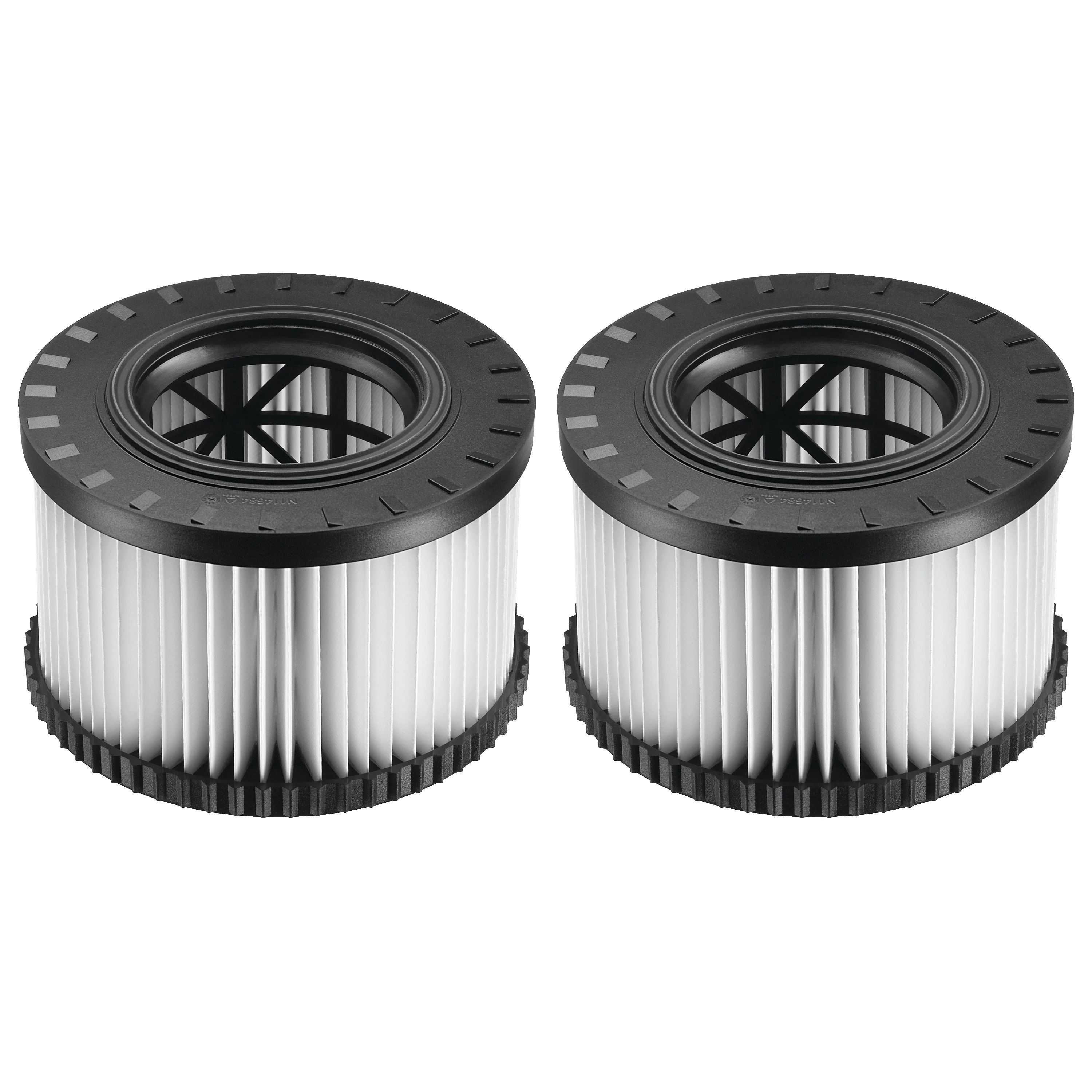 Replacement HEPA Filter Set for DWV010 & DWV012 (TYPE 2) Dust Extractors - Dustless Attachments