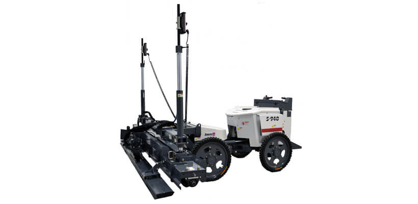 Somero Laser Screed w/ Kubota Diesel Engine & 10' Auger Vibrator Head - Specialty