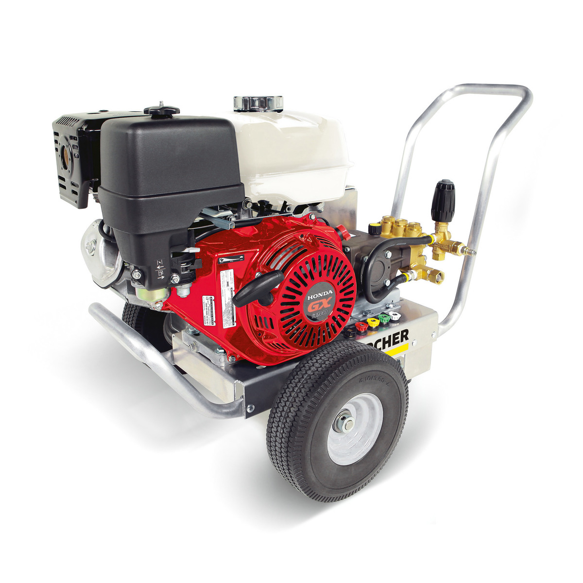 Heavy Duty 4000psi Gas Powered Cold Water Pressure Washer - Cleaning & Pressure Washers