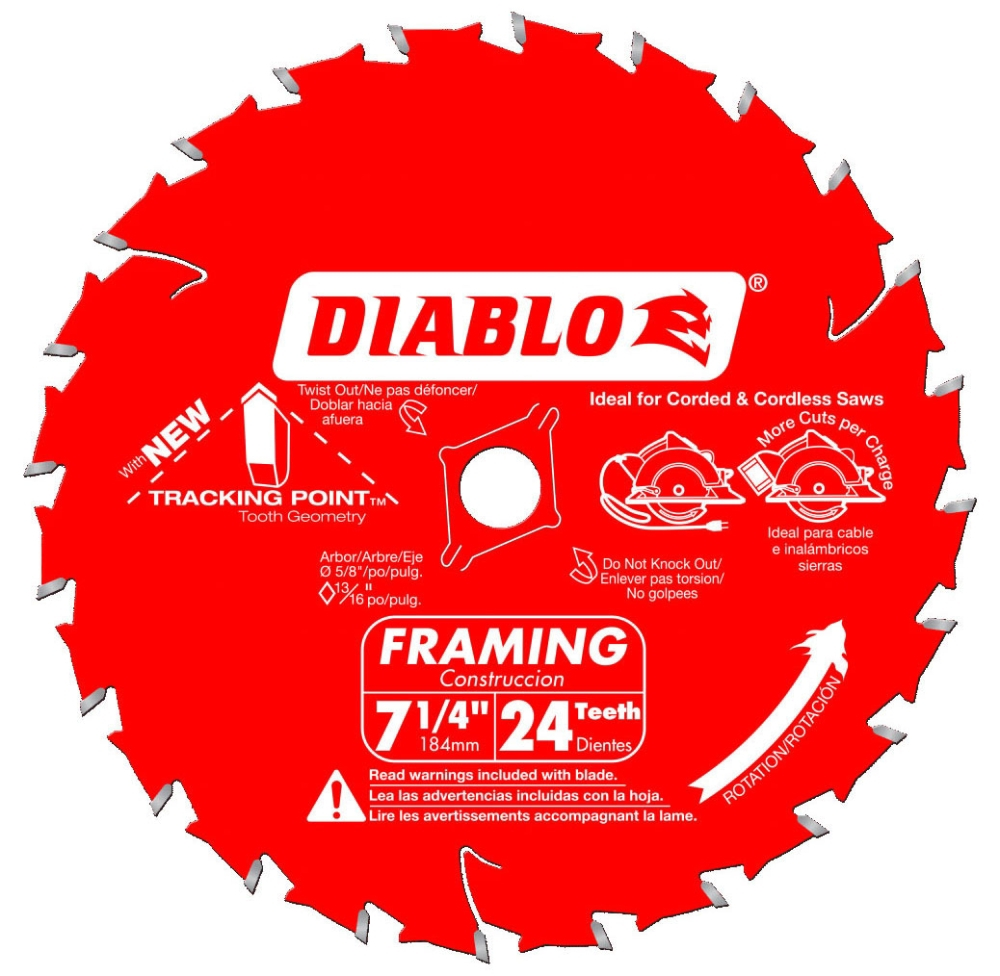 Carbide Blade-Diablo / Power Tool Accessories
