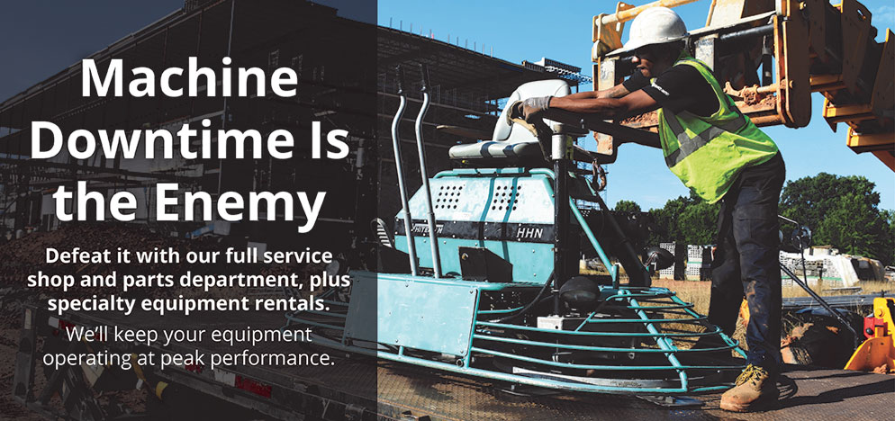 Avoid Machine Downtime – Specialty Equipment Rentals