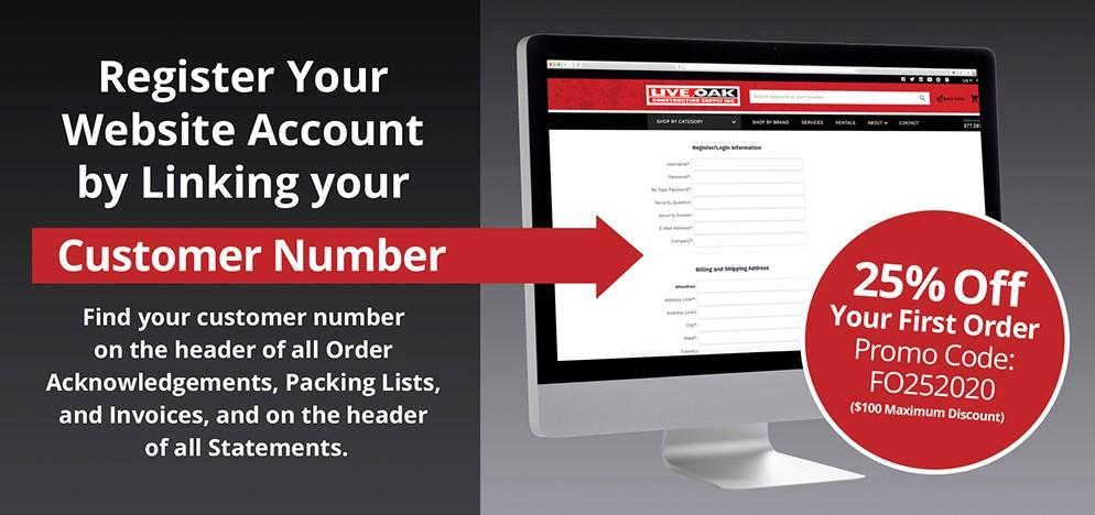 Register Your Website Account
